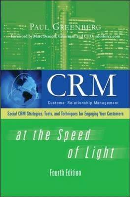 CRM at the Speed of Light By Greenberg, Paul